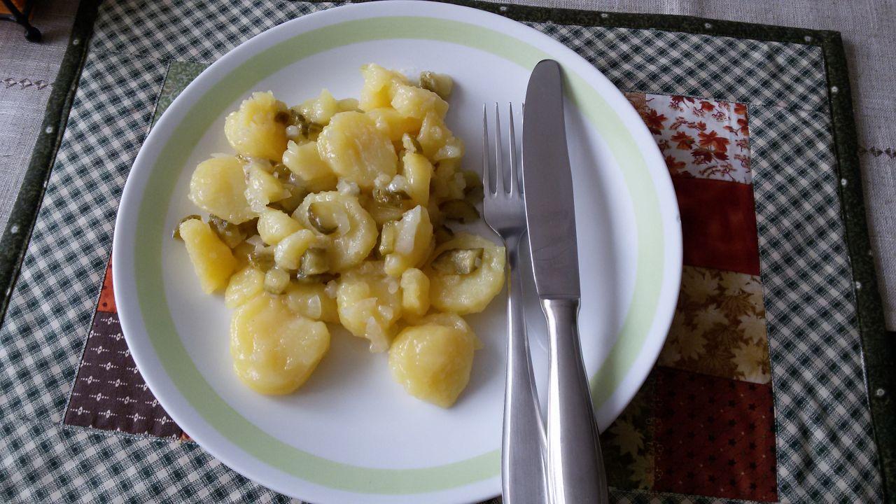 Selský bramborový salát